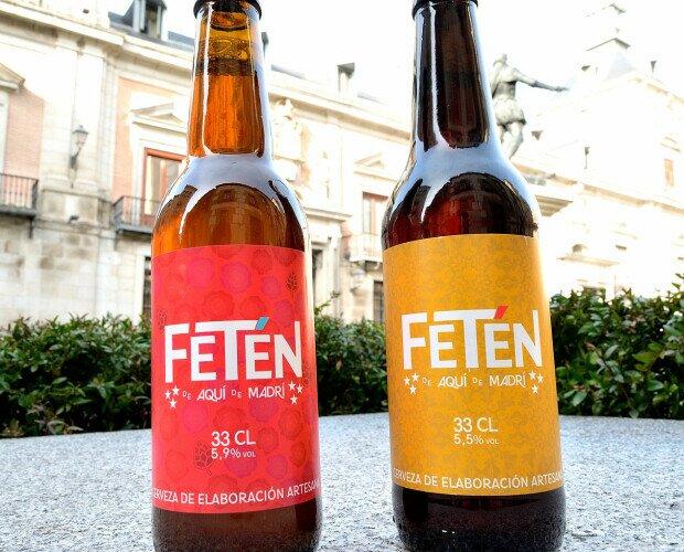Cervezas. La IPA y la TOSTA en la plaza de la villa