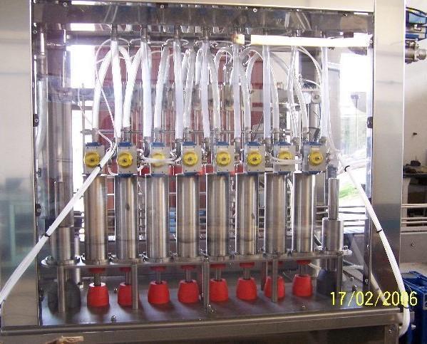 Maquinaria de envasado. Automáticas y semiautomáticas