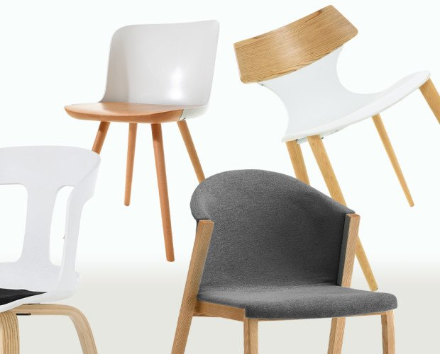 Mobiliario de Comedor.Sillas de diseño fabricadas con materiales nobles y modernos, aportando personalidad.