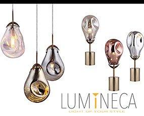 LUMINECA Mesa. Nuestras colecciones de luminaria son completas ofreciendo distintas posibilidades.