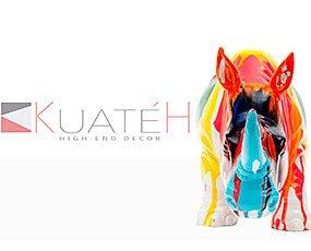 KUATEH Presentación. Nuestra firma especializada en decoración: Figuras, pinturas, almacenaje...