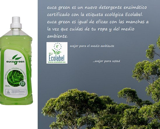 Detergentes Industriales para Ropa.Certificación Ecolabel