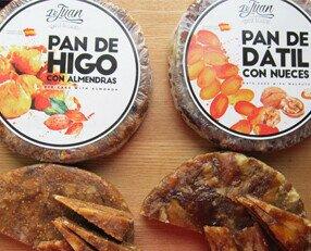 Pan de Higo / Dátil. Pan de higo con almendras Pan de dátil con nueces