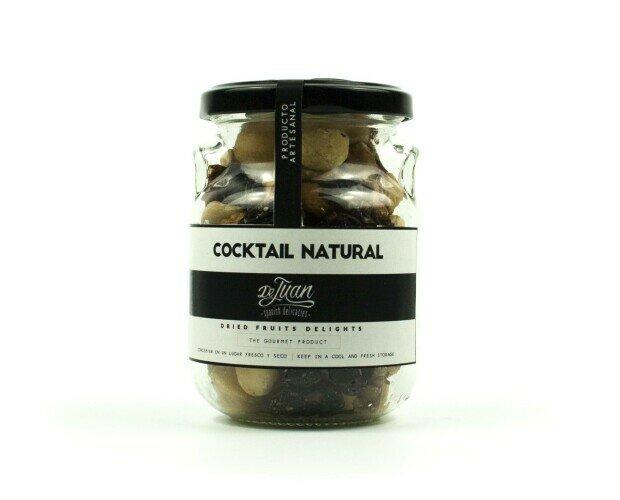 Cóctel natural. Selecta variedad de frutos secos