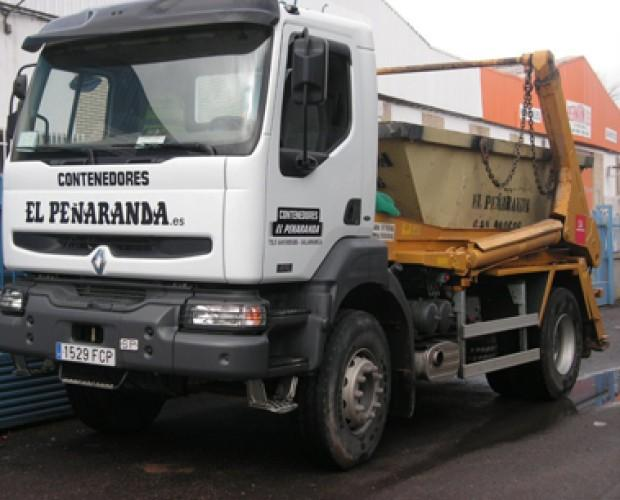 Tratamiento de Residuos Agrícolas.Camión