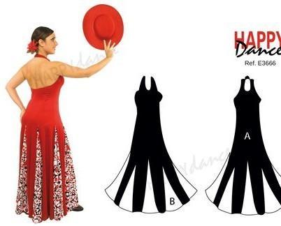 Vestido de flamenco. Vestidos de alta calidad