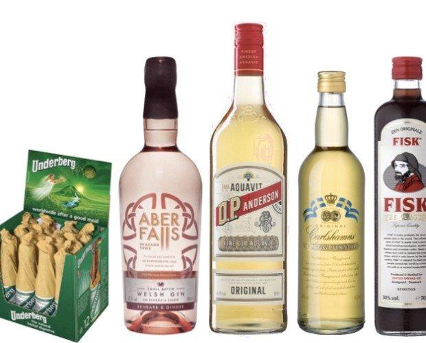Destilados. Destilados alemanes, británicos, suecos, daneses...