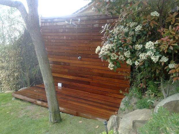 Superficies de madera. Trabajos en madera para exterior