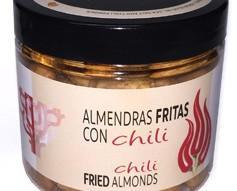 Chili PET 125g. Almendras fritas con sal y chili, las más picantes!