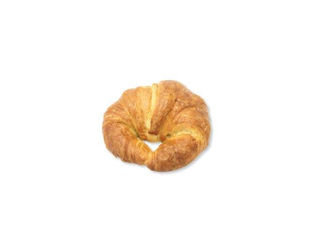 Croissant curvo margarina. Bollería dulce tierna como nuetstros croissants de margarina
