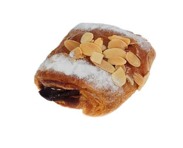 Mini napolitna choco. Amplio surtido de bollería dulce como napolitanas mini de chocolate