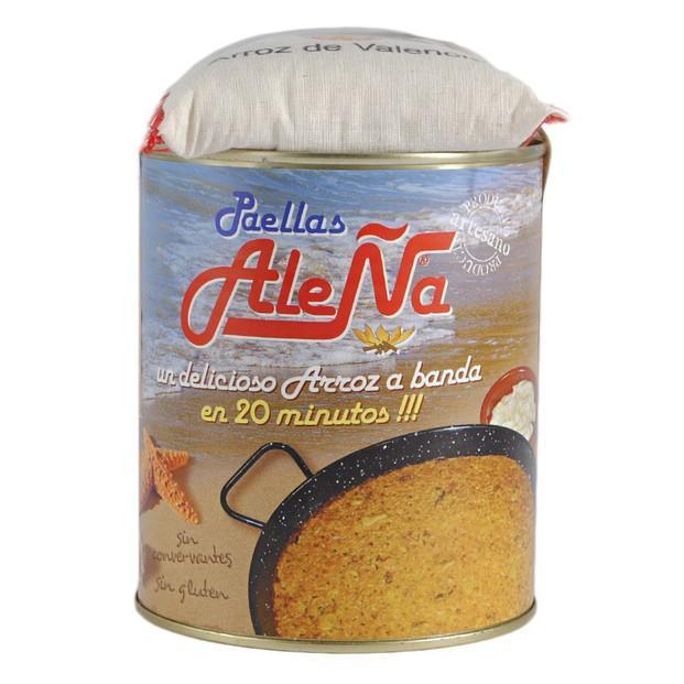 Arroz a banda. Original receta de arroz a banda con sabor a mar