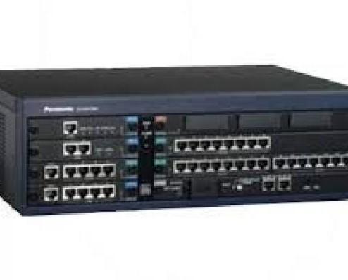 Centralita Panasonic. La central KX-TES824 es ampliable