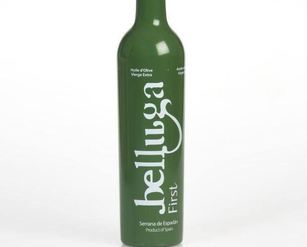 Belluga First. Aceite de oliva virgen extra variedad Serrana de Espadan extracción en frio el primer día de cosecha