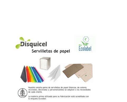 Servilletas de papel. Disponemos de una amplia gama de servilletas de papel con diferentes calidades.