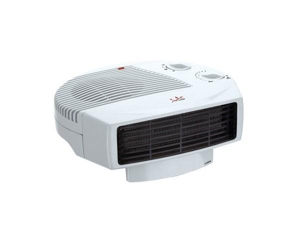 Calefacción. Termoventilador horizontal regulable