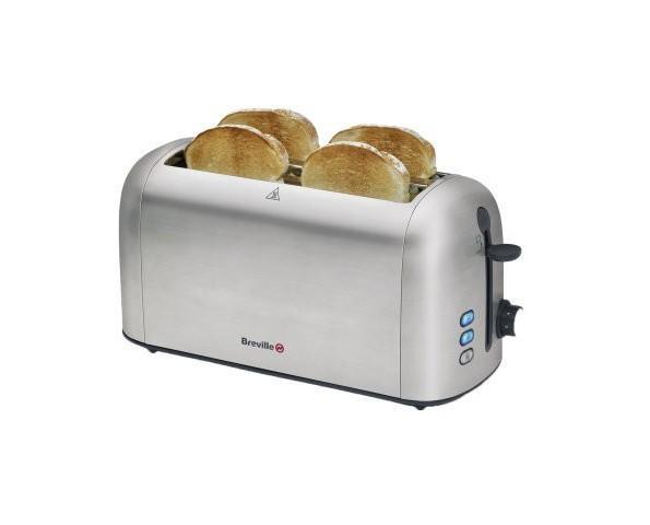 Tostador. Para cuatro tostadas, ranuras adaptables