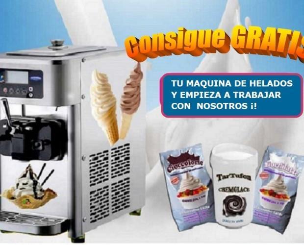 Máquinas de Helados.Máquina helados soft modelo Minny