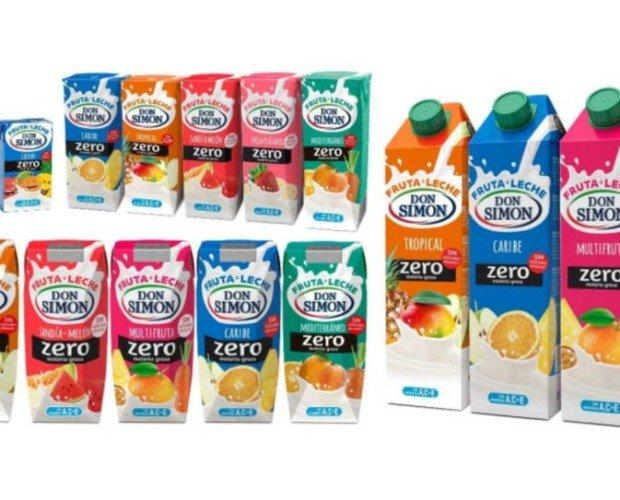 Don Simón. Gama zumos y zumos con leche
