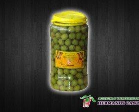 Aceitunas caseras. Aceitunas verddes aliñadas caseras
