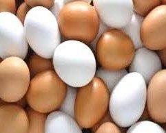 Huevos de gallina. A 2 euros la docena