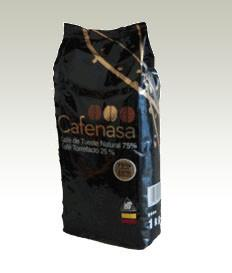 Café Colombia 100%. 75% Tueste Natural + 25% Torrefacto, 1kg