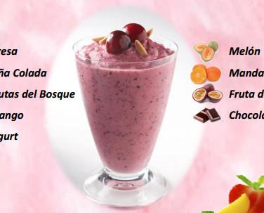 Smoothies. 9 variedades diferentes de smoothies