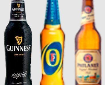 Cervezas. Gran variedad e cervezas de importación