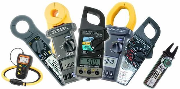 Medidores de Flujos.Pinzas Amperimétricas
