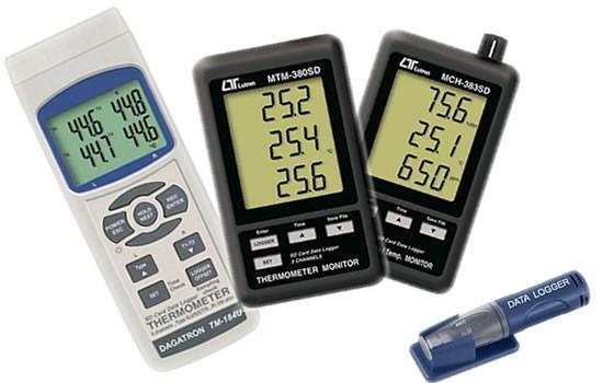 Instrumentos de Medición Electrónica.Termómetros industriales
