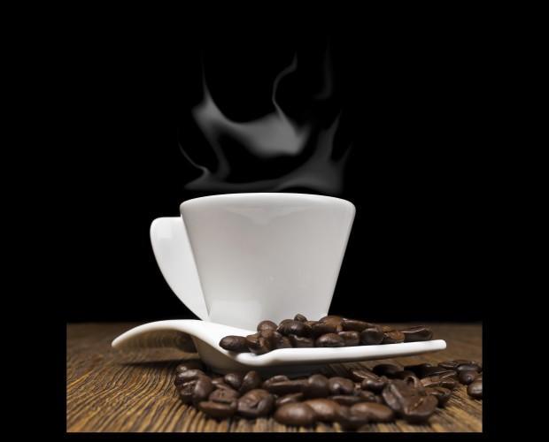 Variedad de café. Café en grano, molido, en cápsulas