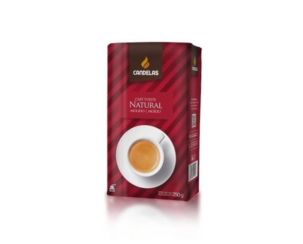 Café molido. Delicioso café molido natural