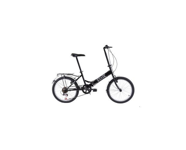 Bicicleta State. Bicicleta plegable cuadro de acero