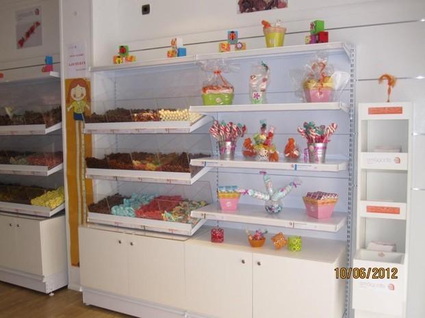 Golosinas. Variedad de dulces suecos