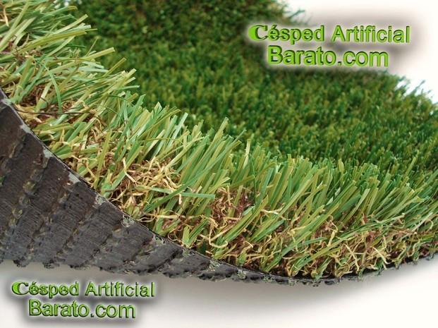 Decoración para Jardín.Monofilamento de 42mm, fibra ovalada, mayor resistencia