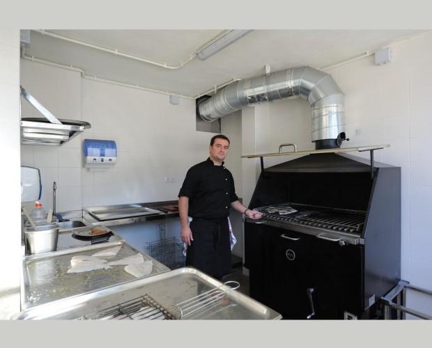 Extracción . Campanas de extracción para cocinas industriales