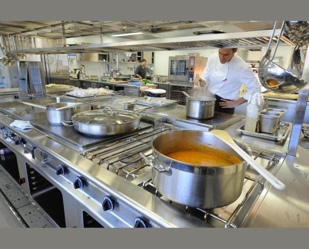 Cocinas en acero inoxidable. Instalaciones de alta calidad