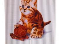 Póster calefactor gatito