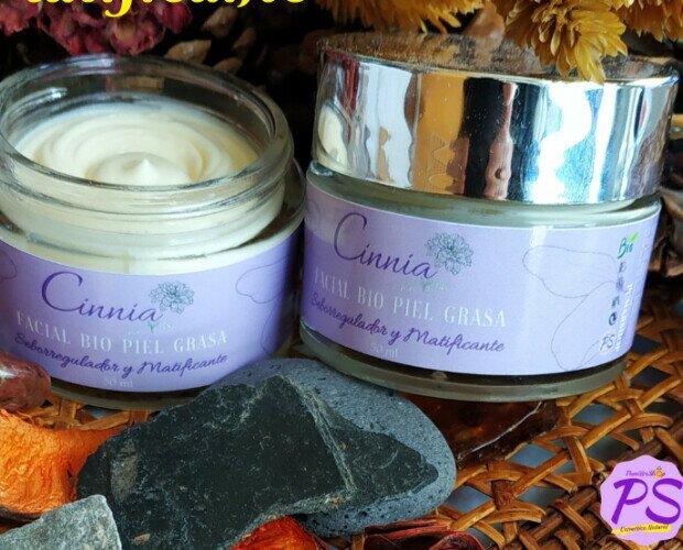 Crema Bio Piel Grasa 50 ml. Hidrata, Nutre y Tonifica. Calma las Irritaciones, Aclara las Pecas y Manchas.