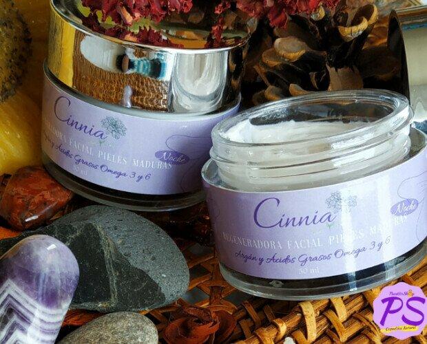Crema Regeneradora de Noche 50 ml. Con Aceite de Argán, Indicada para Pieles Maduras con Propiedades Antienvejecimiento.