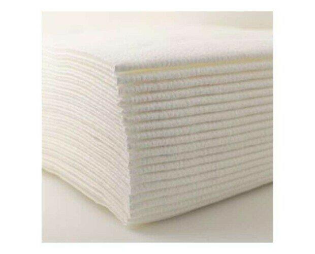 Toallas de Celulosa Desechables. Ideales para secar el cabello y no manchar las toallas