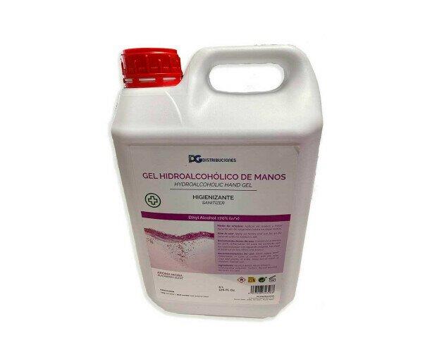 Gel Hidroalcohólico de Manos. Para limpieza de manos sin necesidad de emplear agua