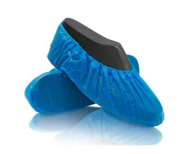 Calza Desechable. 100% reciclable, con goma elástica integrada para una mejor adaptabilidad al zapato
