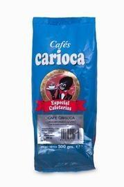 Café Carioca descafeinado. Descafeinado natural en grano, 500gr