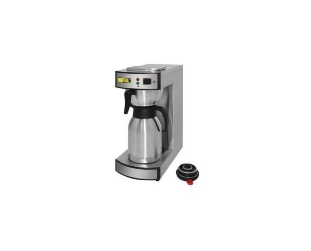 Máquinas Para Bebidas. Cafetera para servir y jarra termo Buffalo