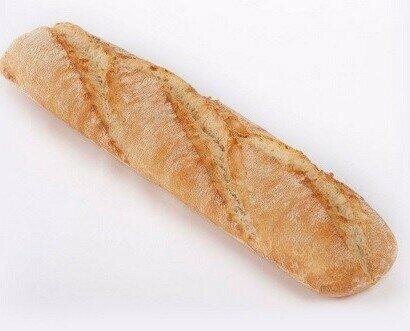 Barra de pan. Contamos con pan congelado de calidad