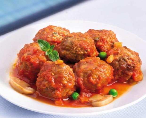Albóndigas en salsa. Un plato irresistible