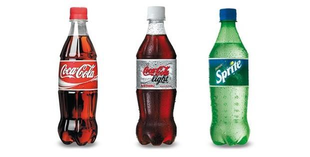 Refrescos Coca-Cola. Coca-Cola, Fanta, Sprite, zumos Minute Maid
