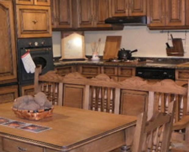 Cocinas.Diseñamos y montamos cocinas de madera