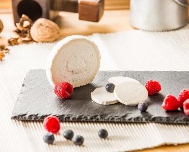 Queso de Cabra.La congelación es clave para mantener este sabor intacto hasta su consumo.